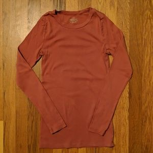 J Crew Long Sleeve Perfect Tee